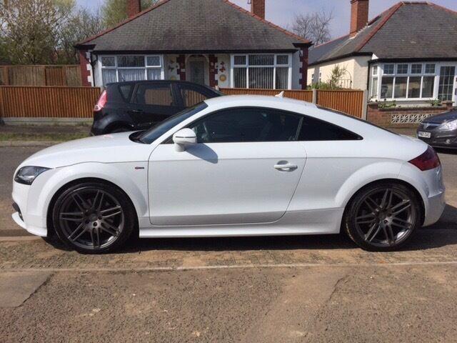 2014 Audi TT S line 4wd black edition 2.0 TDI Only 11600 miles mint ...