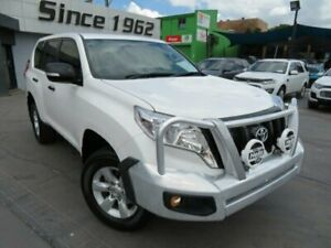 2015 Toyota Landcruiser Prado GDJ150R MY16 GX (4x4) White 6 Speed Automatic Wagon Granville Parramatta Area Preview