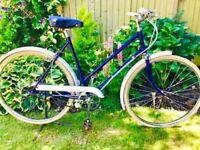 "Vintage classic B S A ladies Town Bike 3 speed 20 "" frame 26""wheels"
