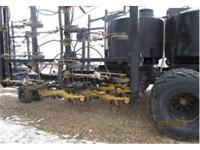 Seedmaster 50-12TXB air drill with New Holland cart