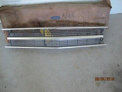1969 FORD GALAXIE NOS FRONT GRILL C9AZ-8200 BRAND NEW FOMOCO !!! (Ford Galaxie Grill)