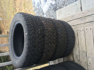 Four 175/65R14 Winter Tires