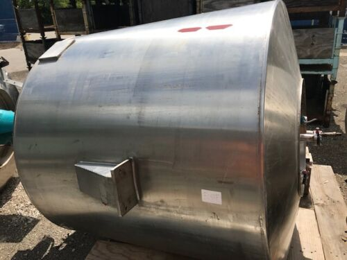 1200 LITER REACTOR JACKETED VESSEL STAINLESS STEEL BY GOAVEC