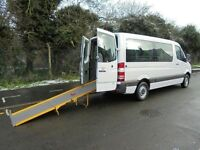 2007 57 MERCEDES-BENZ SPRINTER 2148 CC 209CDI MWB LOW ROOF DISABLED WHEELCHAIR M