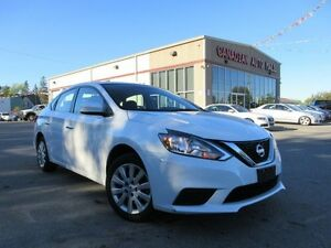 2016 Nissan Sentra 1.8S, AUTO, A/C, BT, LOADED, 25K!