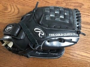 "BASEBALL GLOVE: RAWLINGS AARON HILL AUTHOGRAPH MODEL 11"" PLAYER"
