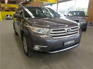 2011 Toyota Kluger GSU45R MY11 KX-S AWD Grey 5 Speed Sports Automatic Wagon Cardiff Lake Macquarie Area Preview