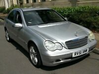 MERCEDES BENZ C200 KOMPRESSOR 4 DR SILVER MANUAL