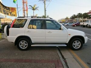 2001 Honda CR-V (4x4) Sport White 4 Speed Automatic 4x4 Wagon Southport Gold Coast City Preview