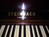 Steinbach (Berlin) upright piano. Good condition . offered free (buyer collects)