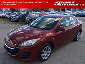 2010 Mazda3! New Tires & Brakes! A/C! Steering Controls!