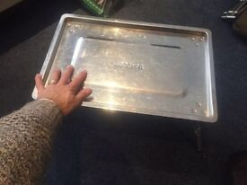 Quirky and Lovely Bivvy Table Stainless Steel Table For Your Bivvy Only £20