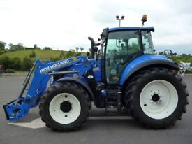 2018 New Holland T5.120 Electro Command & Loader
