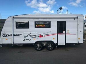 2013 Crusader STARLITE Caravan Unanderra Wollongong Area Preview
