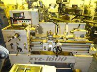 XYZ MODEL 1600 GAP BED CENTRE LATHE