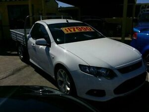 2012 Ford Falcon White Sports Automatic Cab Chassis Dandenong Greater Dandenong Preview