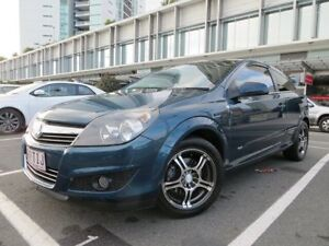 2007 Holden Astra AH MY07 CDX Green 4 Speed Automatic Coupe Southport Gold Coast City Preview