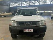 2011 Nissan Navara D22 MY08 DX (4x4) White 5 Speed Manual Cab Chassis Rocklea Brisbane South West Preview