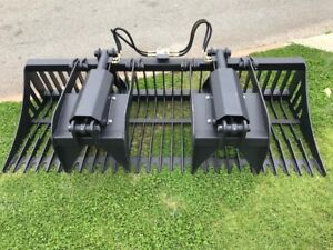 Grapple Bucket Euro Hitch Barrett 1570 mm2100mm and 2300mm Malaga Swan Area Preview