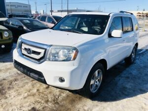 2010 Honda Pilot EX-L (LEATHER)(DVD)(FINANCING AVAILABLE)