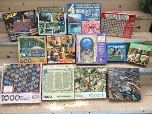Selling Jigsaw Puzzles - Lots of Variety - For Adults and Kids
