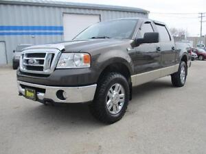 2008 FORD F-150 4X4 SUPERCREW, SAFETY AND WARRANTY $8,950
