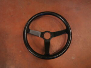 1981 Corvette leather wrap steering wheel $100,00