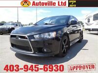 2012 Mitsubishi Lancer Ralliart LOW KM  EVERYONE APPROVED $24988