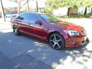 2008 Holden Caprice WM Burgundy Red 6 Speed Sports Automatic Sedan Somerton Park Holdfast Bay Preview