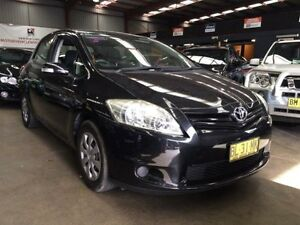 2009 Toyota Corolla ZRE152R MY10 Ascent Black 4 Speed Automatic Hatchback Macquarie Hills Lake Macquarie Area Preview
