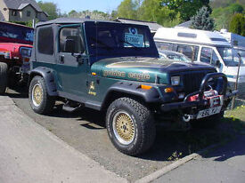 Jeep Wrangler 4.0 Limited Convertible (1994) 44,000 mls.