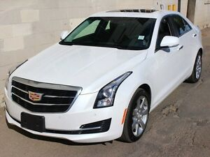 2016 Cadillac ATS 2.0L Turbo LUXURY AWD LOW KM FINANCE AVAILABLE