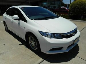 2012 Honda Civic 9th Gen Ser II VTi White 5 Speed Manual Sedan Yamanto Ipswich City Preview