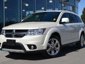 2014 Dodge Journey Certified | White Pearl Tricoat | Accident Fr