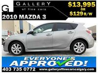 2010 Mazda3 Grand Touring $129 bi-weekly APPLY TODAY DRIVE TODAY