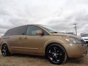 2004 NISSAN QUEST 3.5 SPORT-HEATED SEATS- DRIVES EXCELLENT