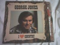 Vinyl LP I Love Country – George Jones