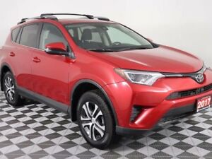 2017 Toyota RAV4 LE with Roof Rack and Trailer Hitch - Ready for