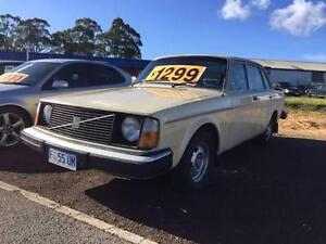 1975 Volvo 244DL Sedan 2.1L 4cyl Automatic Sold New in Launceston Prospect Vale Meander Valley Preview