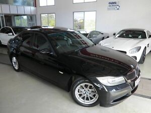 2007 BMW 320i E90 MY08 Executive Steptronic Black 6 Speed Sports Automatic Sedan Albion Brisbane North East Preview