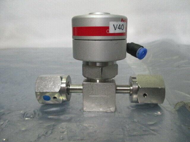 Fujikin NSDBT-21-6.35-APY 3-Port C-Seals Diaphragm Air Valves 401181 Lot of 4