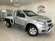 2014 Holden Colorado RG MY14 DX (4x4) Silver 6 Speed Manual Cab Chassis Parramatta Park Cairns City Preview