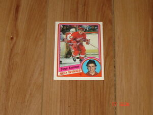 Cartes de hockey OPC 84-85, Yzerman RC