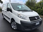 2009 Fiat Scudo White 6 Speed Manual Van Hoppers Crossing Wyndham Area Preview