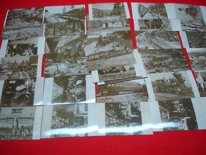 Set de 50 cartes postales postcards photos Master Photographers