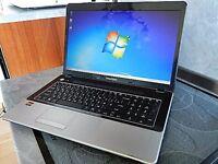 EMACHINES E440 LAPTOP WINDOWS 7 HOME PREMIUM 500GB HDD 4GB RAM DUAL CORE CPU