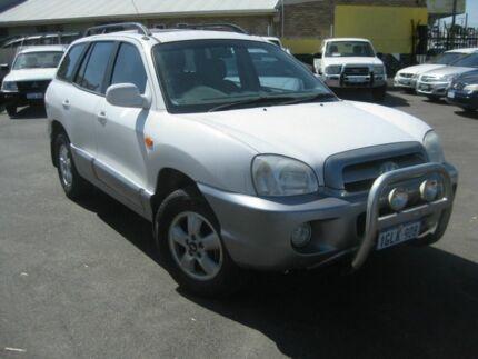 2005 Hyundai Santa Fe TIDY*** SUV** White 4 Speed Automatic Wagon Beckenham Gosnells Area Preview