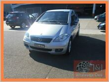 2005 Mercedes-Benz A170 W169 Classic Silver 7 Speed CVT Auto Sequential Hatchback Warwick Farm Liverpool Area Preview
