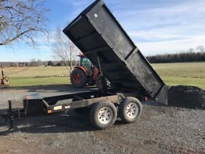 Dump Trailer legal for Road and Inspected For Sale now