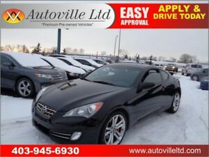 2010 Hyundai Genesis Coupe Manual 2.0T GT Sunroof Heated Seats